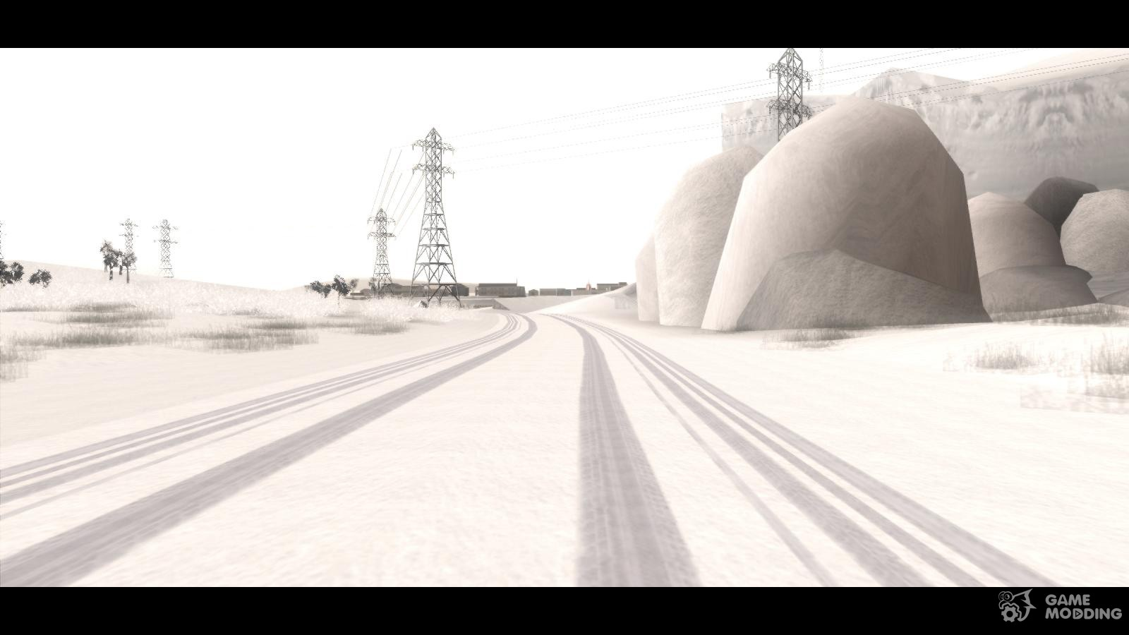 Winter Mod v2 for GTA San Andreas