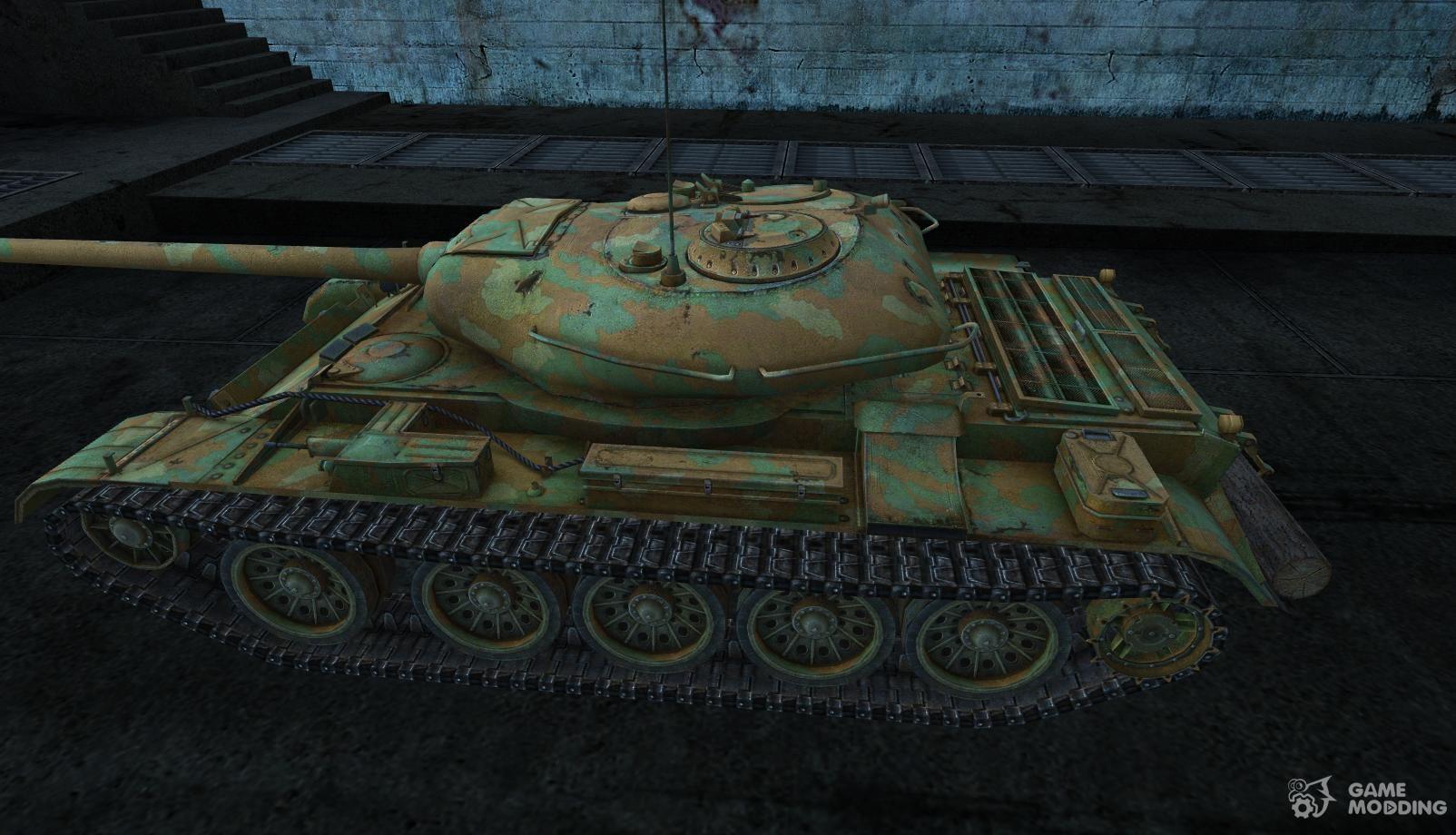 wot t-54 mod 1