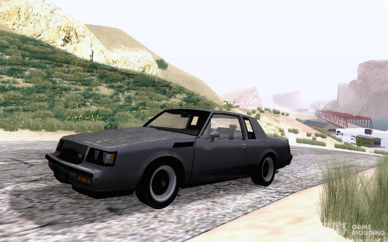 Buick regal gnx 1987 for gta san andreas