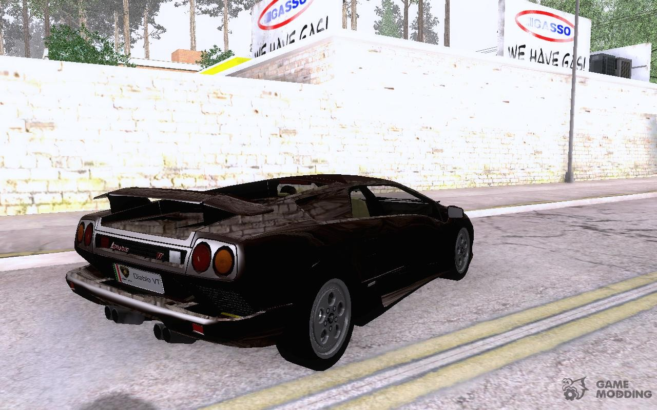 1995 Lamborghini Diablo Vt V1 0 For Gta San Andreas