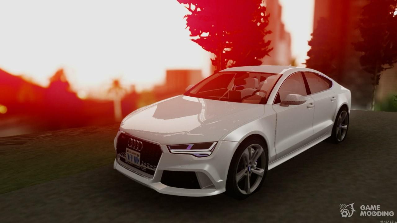 RS Sportback For GTA San Andreas - Audi car 3d games