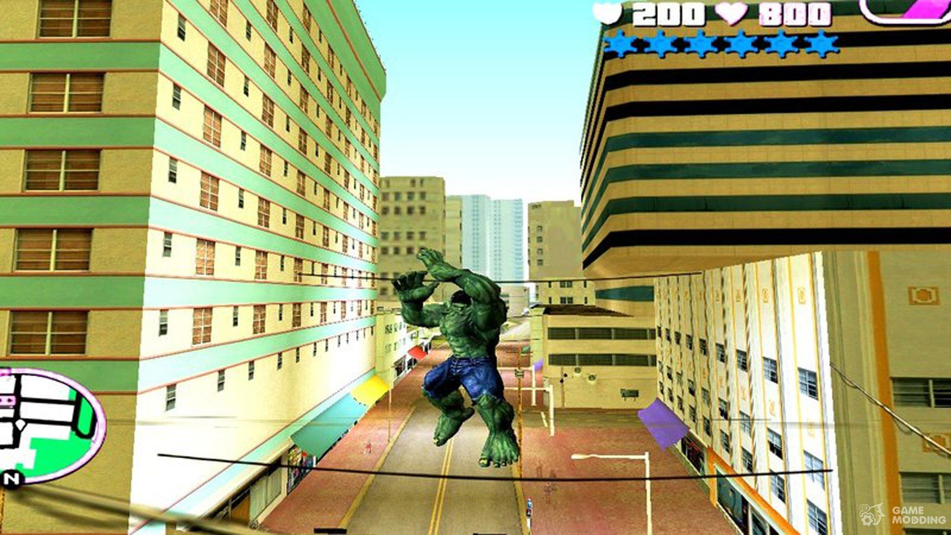Hulk Mod for GTA Vice City