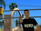 Justin Bieber for GTA San Andreas rear-left view