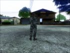 Генерал Чжао, конверт из CoD: BO2 для GTA San Andreas вид сзади слева