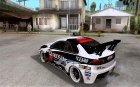Mitsubishi Lancer Evo X 2008 for GTA San Andreas rear-left view