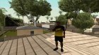 Футболка NAVI для GTA San Andreas вид изнутри