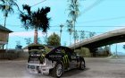 Ford Focus RS Monster Energy для GTA San Andreas вид сверху