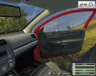 VW Golf Gti v1.0 Red for Farming Simulator 2013 right view