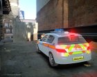 Vauxhall Astra 2005 Police Britax for GTA 4 rear-left view