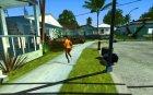 Доработанная система педов для GTA San Andreas вид слева