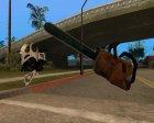 HD оружие для GTA San Andreas вид сверху