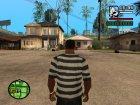 """Футболка """"Моряк"""" для GTA San Andreas вид слева"""