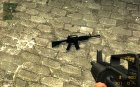 Soul_slayer M4A1 for AUG для Counter-Strike Source вид сверху