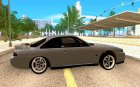 Nissan Silvia S14 for GTA San Andreas inside view