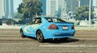 Sultan Impreza WRX STI for GTA 5 left view