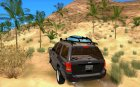 Jeep Grand Cherokee 2005 for GTA San Andreas rear-left view