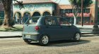 Daewoo Matiz for GTA 5 rear-left view