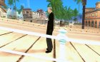 Новый агент ФБР for GTA San Andreas left view