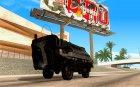 Транспорт из игры Turok для GTA SA для GTA San Andreas вид сзади слева