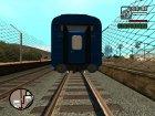 "Купейный вагон ""Черноморец"" для GTA San Andreas вид сзади слева"