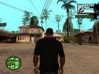 Футболка Left 4 dead для GTA San Andreas вид сверху