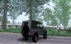 УАЗ 469 Военный for GTA San Andreas rear-left view