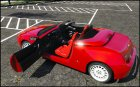 Alfa Romeo Spider 916 1.2 for GTA 5 rear-left view