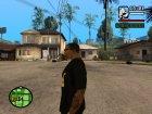 Футболка для модератора Crow для GTA San Andreas вид сверху