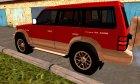Mitsubishi Pajero второго поколения for GTA San Andreas top view