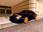 GameModding Porsche GT3 для GTA San Andreas вид сзади слева