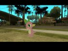 Spike (My Little Pony) для GTA San Andreas вид сзади слева