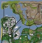 Бизнес в Диллимуре для GTA San Andreas вид сверху