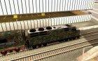 Камуфляжный поезд for GTA San Andreas left view