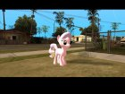 Diamond Tiara (My Little Pony) для GTA San Andreas вид сзади слева