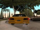 Taxi адаптированное к моду IVF для GTA San Andreas вид сверху
