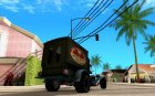 Ford model T 1923 Ice cream truck для GTA San Andreas вид сверху