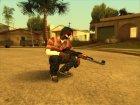 Guns default 'quality for GTA San Andreas left view