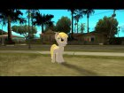 Derpy Hooves (My Little Pony) for GTA San Andreas rear-left view