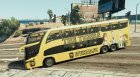Al-Ittihad S.F.C Bus for GTA 5 left view