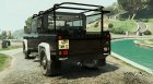Land Rover Defender 110 Pickup for GTA 5 left view
