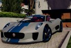 Jaguar C-X75  BETA for GTA 5 left view