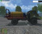 ГАЗ-66 Sprayer for Farming Simulator 2015 top view