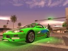 Paul Walker FnF and Collection Always Evolving Cars для GTA San Andreas вид сзади слева