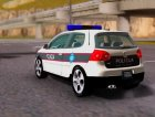 Golf V - BIH Police Car для GTA San Andreas вид сзади