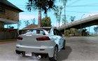 Mitsubishi Lancer Evo X для GTA San Andreas вид сверху