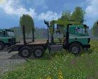 Mercedes-Benz SK 1935 Forest v1.0 for Farming Simulator 2015 rear-left view