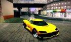 Entity XF из GTA V для GTA San Andreas вид сзади слева