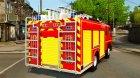 Mercedes-Benz Atego FPTGP Sapeurs Pompiers [ELS] для GTA 4 вид сзади слева