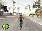 Джинсы BETA для GTA San Andreas вид слева