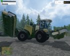 Krone Big M500 ATTACH V 1.0 для Farming Simulator 2015 вид сверху